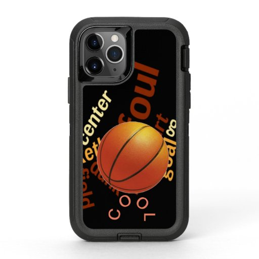Create Your Own Lets Play B Ball OtterBox Defender iPhone 11 Pro Case