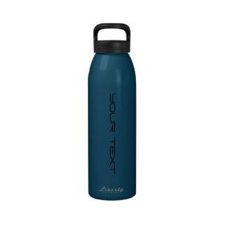Create Your Own Liberty 24oz Patriot Blue Bottle Reusable Water Bottles