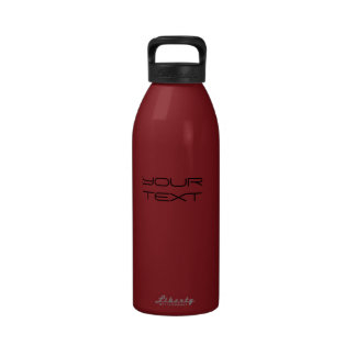 Create Your Own Liberty 32oz Cranberry Bottle Water Bottles