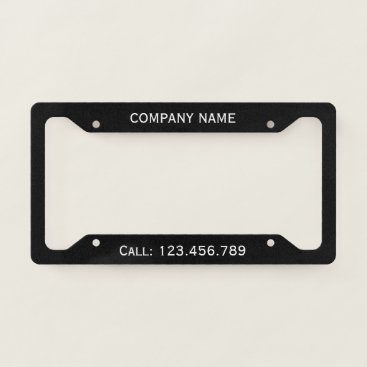 istanbuldesign Create Your Own Licence Plate Frame