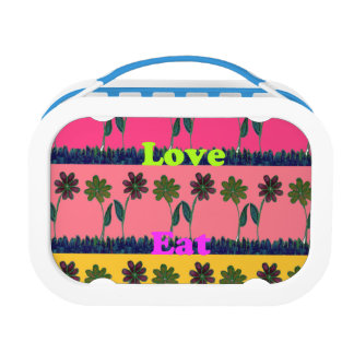 Create Your Own Love Eat Play Girly Yubo Lunch Box