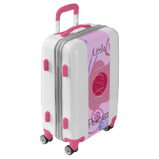 Create Your Own Lovely Little Princess Baby Pink Luggage