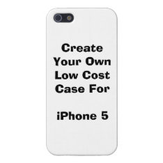 Create Your Own Low Cost Iphone 5/5s Case Savvy at Zazzle