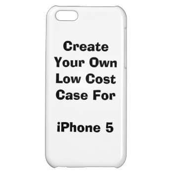 Create Your Own Low Cost Iphone 5c Case Savvy by DigitalDreambuilder at Zazzle