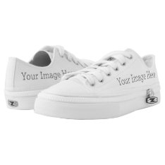 Create Your Own Low-top Sneakers at Zazzle