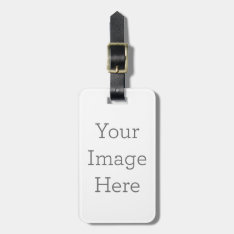 Create Your Own Luggage Tag at Zazzle