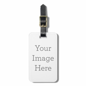 zazzle_templates Create Your Own Luggage Tag