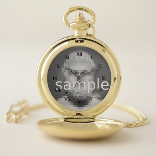 Create your own luxury pocket watch with photo