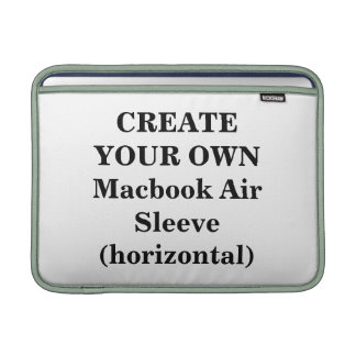 Create Your Own Macbook Air Sleeve (horizontal)