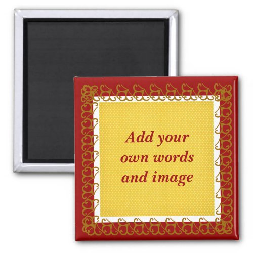 Create Your Own Magnet cranberry