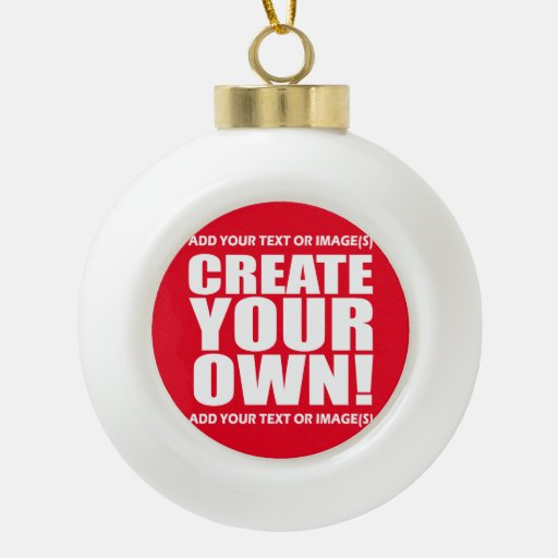 Create Your Own Make It Now Ceramic Ball Christmas