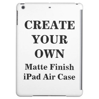 Create Your Own Matte Finish iPad Air Case