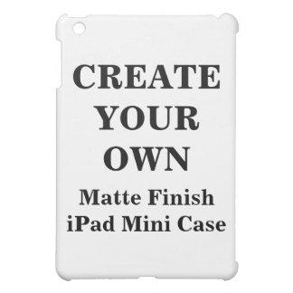 Create Your Own Matte Finish iPad Mini Case