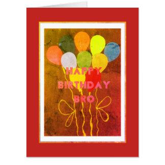 Create Your Own Mega Big Happy Birthday Bro Card