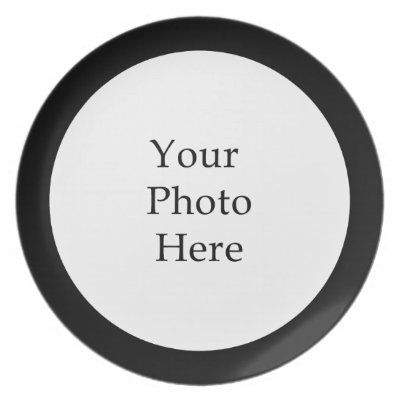 sc 1 st  Zazzle & Create Your Own Melamine Plate | Zazzle.com