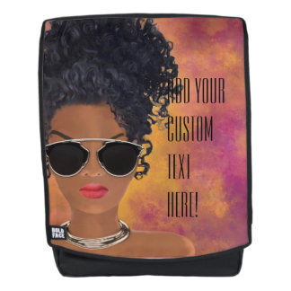 Create your own Melanin Affirmation Backpack