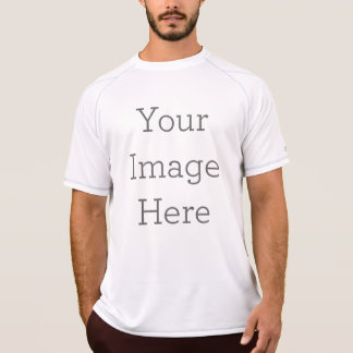 Create Your Own Men's Double Dry Mesh T-Shirt