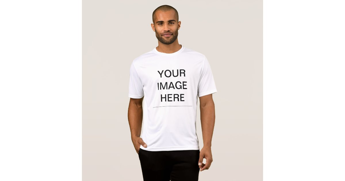 Create Your Own Men 39 S Sport Tek Active T Shirt Zazzle