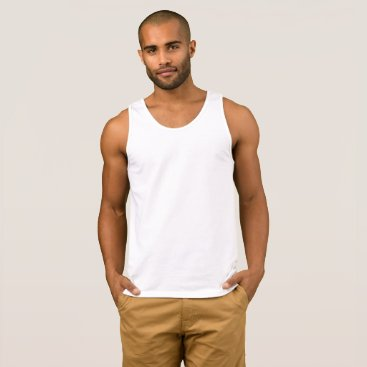 Beach Themed Create Your Own Mens Tank Top