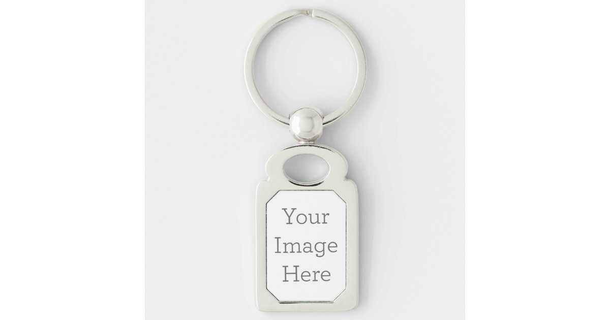 Create Your Own Metal Keychain | Zazzle com