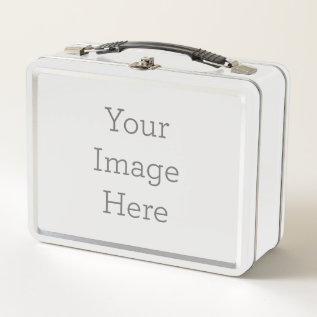 Create Your Own Metal Lunch Box at Zazzle