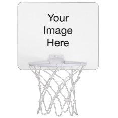 Create Your Own Mini Basketball Goal Mini Basketball Backboard at Zazzle