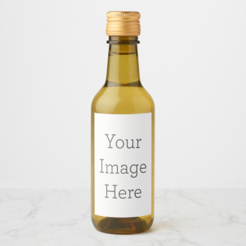 Create Your Own Mini Wine Bottle Labels 2 x 3
