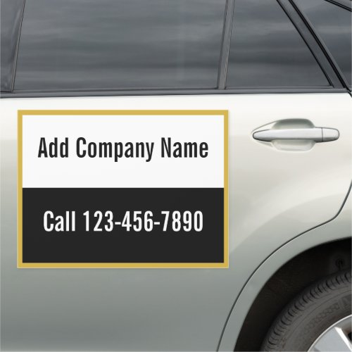 Create Your Own Mobile Ad  Company Name  Phone Car Magnet