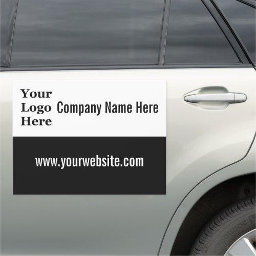 Create Your Own Mobile Ad  Your Logo Here Car Magnet