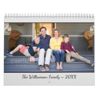 Create Your Own Modern Grey Cover 2020 Photo Calendar