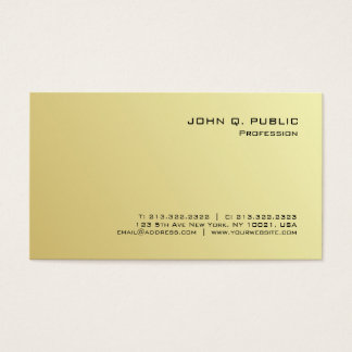 Create Your Own Modern Professional Simple Business Card