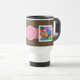 Create Your Own Mom Gift | Mother's Day Rustic Travel Mug