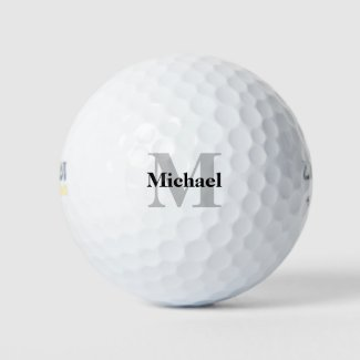 Create Your Own Monogram Golf Balls