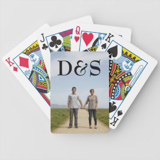 Create Your Own Monogram Photo Playing Cards