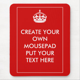 Create Your Own Mouse Pad