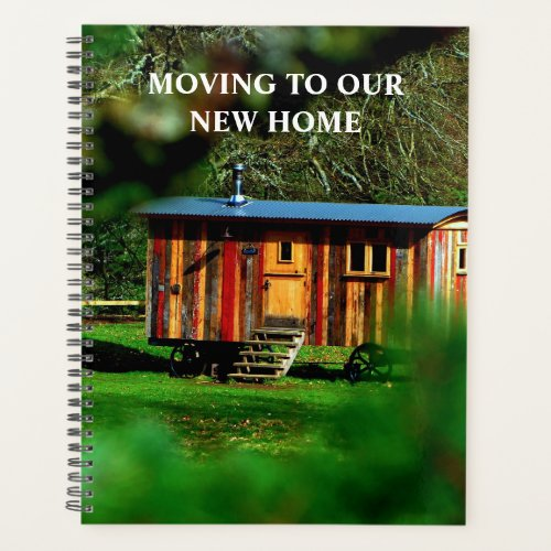 Create your own moving to new home photo planner
