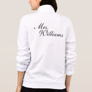 Create Your Own Mrs. Wedding Printed Jackets