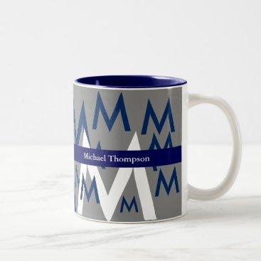 Coffee Themed create your own mug monogram