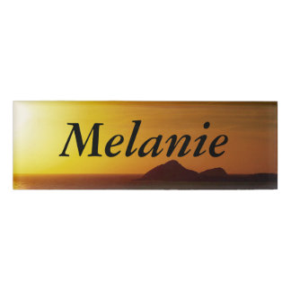 Create your own name tag