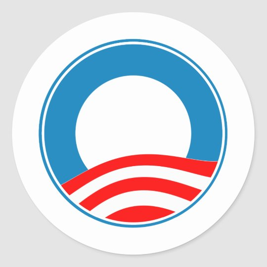Create your own Obama Design Classic Round Sticker