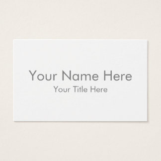 Create Your Own Oceania Business Card