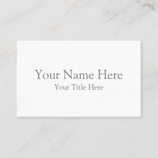 Create Your Own Oceania Business Card