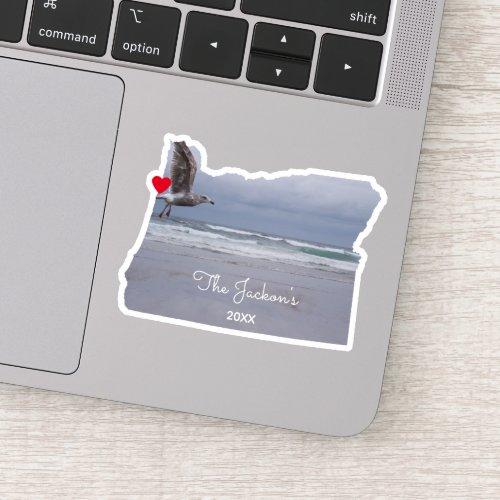Create Your Own Oregon Photo Sticker