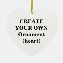 create, your, own, ornament, heart, make, design, template, Ornament with custom graphic design