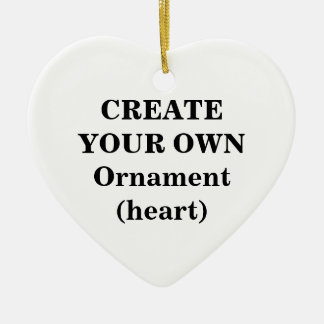 Create Your Own Ornament (heart)