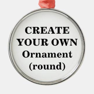 Create Your Own Ornament (premium round)