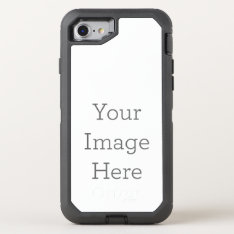 Create Your Own Otterbox Defender Iphone 8/7 Case at Zazzle