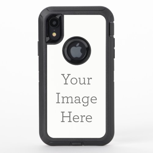 Create Your Own OtterBox Defender iPhone XR Case