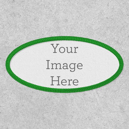Create Your Own Oval Patch