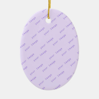 Create Your Own Oval Shaped Ornament